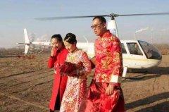 小伙花1197元坐直升机接新娘:你会选择一个没钱但用心的男人吗?